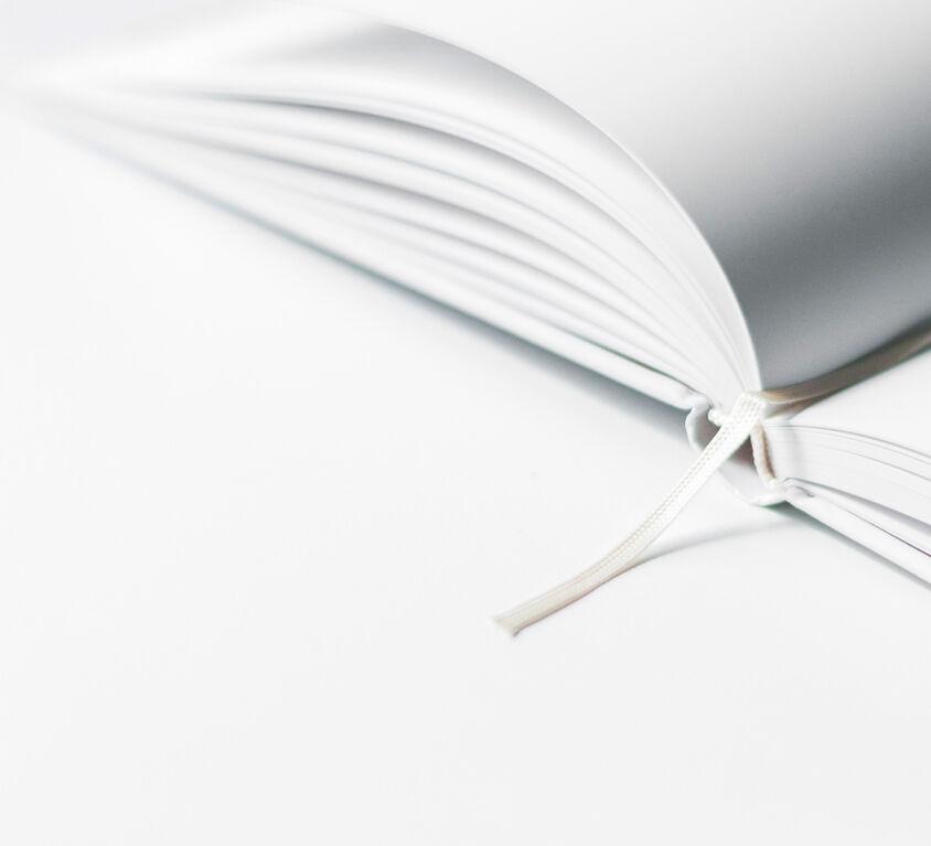 White empty books (Demo)